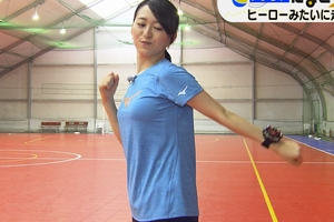 片渕茜アナ ゆさゆさ乳揺れランニングがフル勃起wwwww