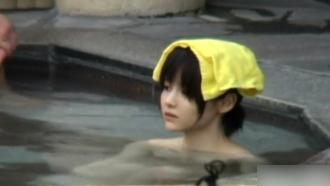 温泉隠し撮りしてたら空前絶後の美少女が来やがったwwwwwww