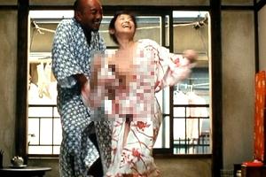 荻野目慶子ヌードで剛毛な陰毛を露わにした全裸シーン「おっぱいみせすぎwwww」