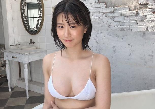 上西怜(NMB48)がエロおっぱい乳首ポロリした写真集を徹底検証wwww