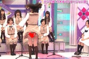生田絵梨花(乃木坂)スカートがめくれてパンツがあああああああああ!!