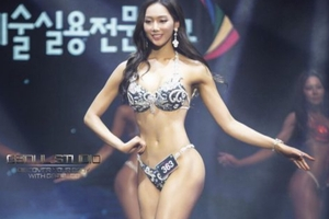 【エロ画像】韓国の下着モデル「巨〇揃い凄すぎワロタ☆☆☆☆☆」