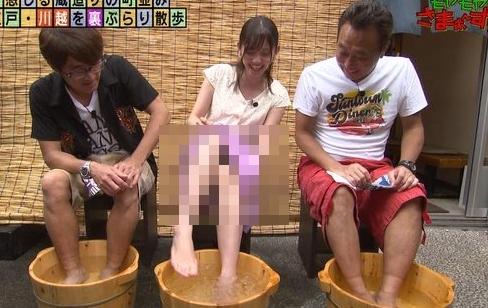 田中瞳アナのおっぱいもパンチラもエロすぎ「胸も股間も緩すぎるwwwwww」