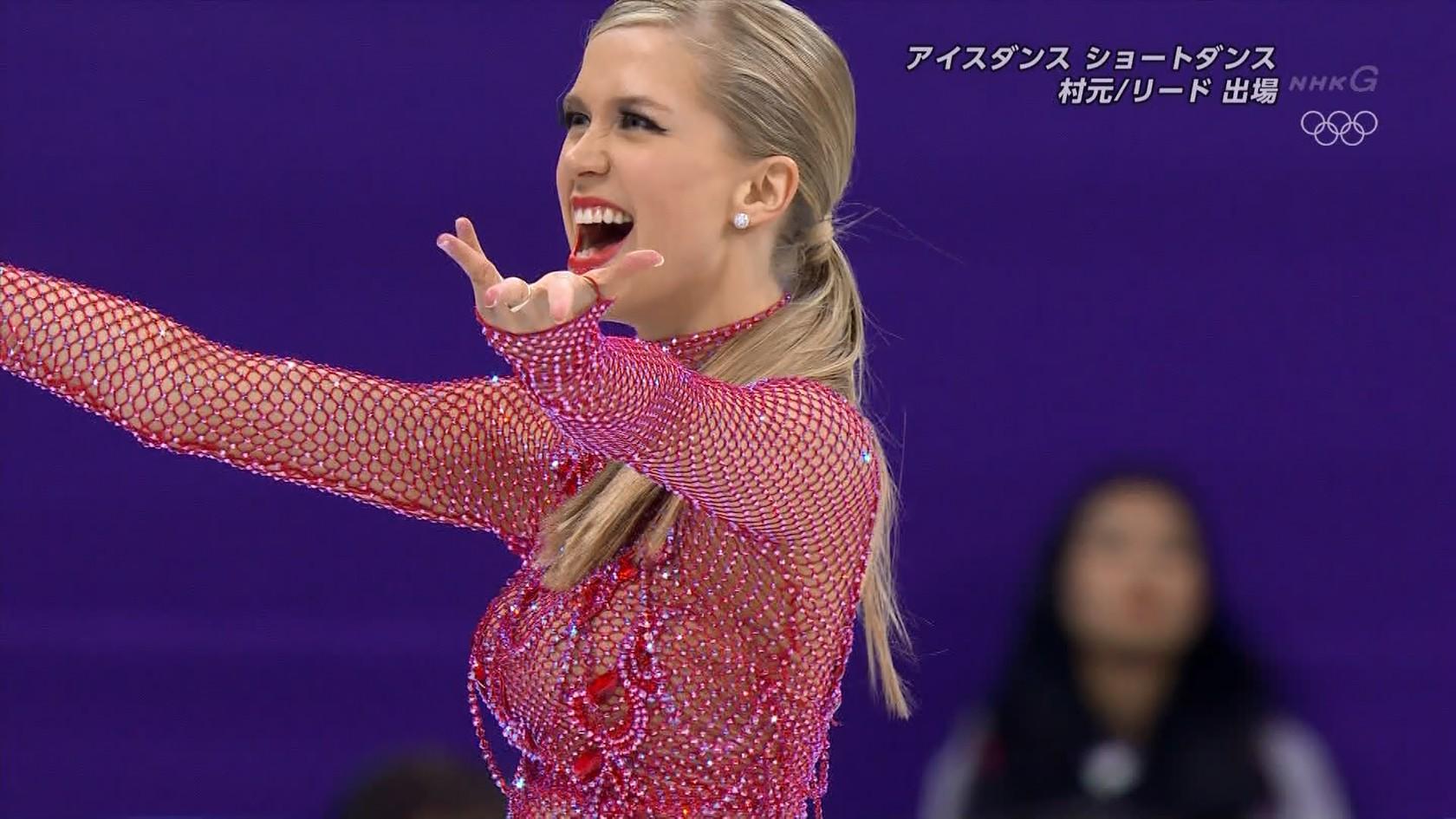 フィギュアスケート平昌オリンピックのエロおっぱい画像