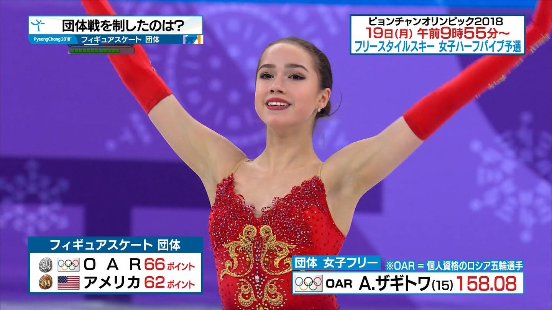 フィギュアスケート平昌オリンピックのパンチラ画像