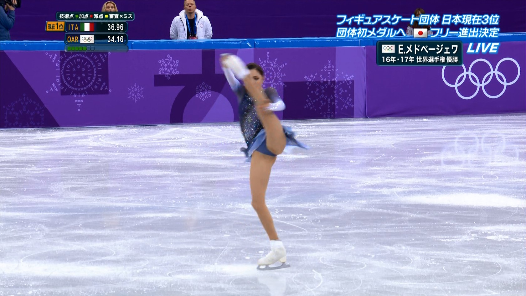 フィギュアスケート平昌オリンピック放送事故