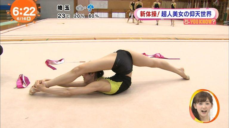 体操(畠山愛理)抜けるハプニングエロ画像