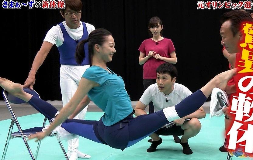 体操・新体操(田中理恵・畠山愛理)のエロ画像
