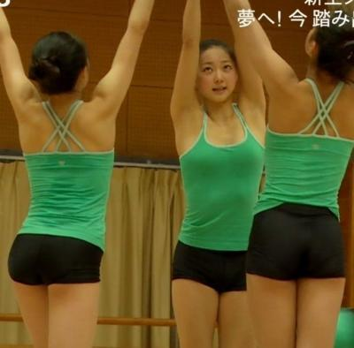 体操(畠山愛理)のAVエロ画像