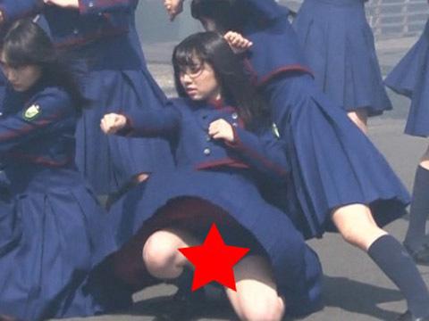 欅坂46長濱ねるのエロパンチラ画像