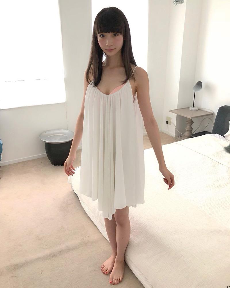 NGT48荻野由佳のエロパンチラ画像