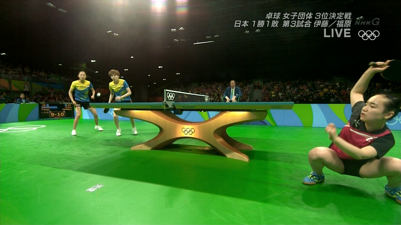 卓球のエロ画像