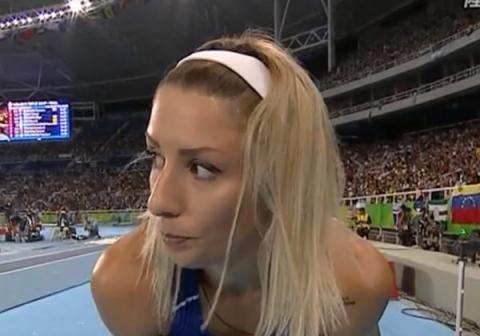 (※写真あり※)過去の五輪でお●ぱいポ少女した一番のモデルってこの三段跳びの選手だよな???