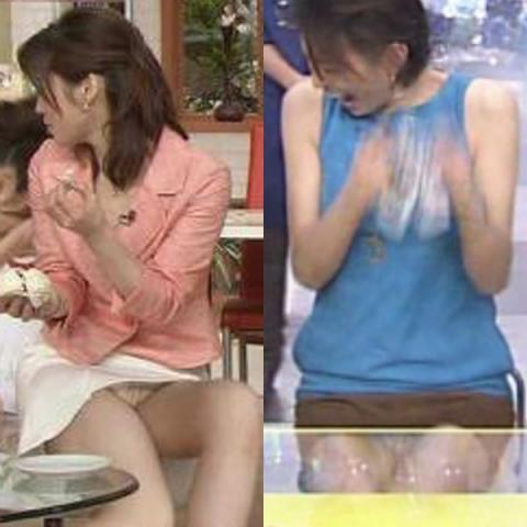 (アイドル24枚)視聴率アップの為かぁー最近のテレビはミニスカアイドルの色っぽい☆パンツ見せ過ぎじゃねぇーwwwバッチリ映った決定的なパンチラを集めたみたぁーwww