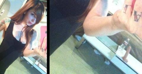 (写真あり)女子「自撮りパシャ」 ⇒ 家でオ○ニーしまくってる事がバレてしまうwwwwww