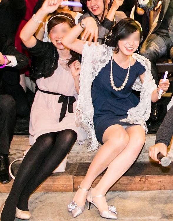 結婚式とかパーティドレスではしゃいでるシロウトさん達のパンツ丸見え写真