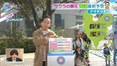 【gif】 フジテレビで強烈な放送事故wwwww (画像あり)