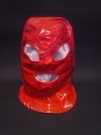 赤エナメル全頭マスク