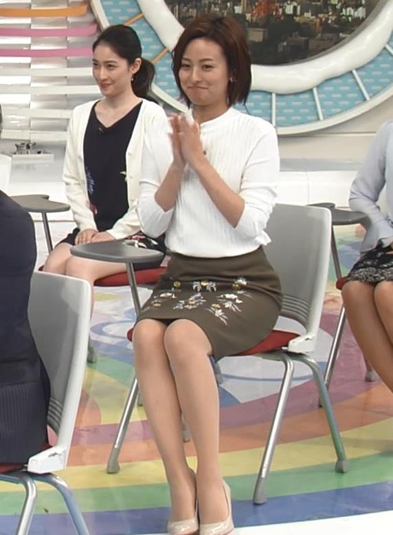 徳島えりか タイトスカート美脚くっきりキャプ画像(エロ・アイコラ画像)