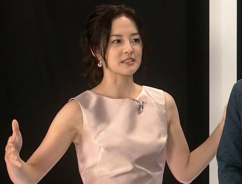 鈴木奈穂子 特番のノースリーブドレスでワキちらキャプ画像(エロ・アイコラ画像)