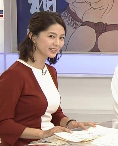 杉浦友紀 また巨乳を強調してくれている。キャプ画像(エロ・アイコラ画像)