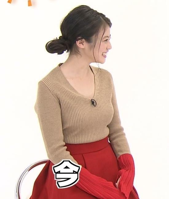 今田美桜 月9出演女優のニットおっぱいがデカい。今後の水着グラビアに期待!キャプ画像(エロ・アイコラ画像)