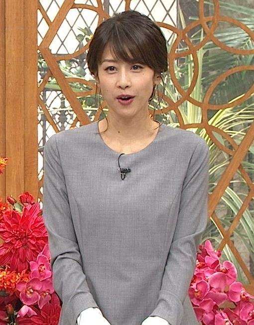 加藤綾子 全然エロくないワンピースキャプ画像(エロ・アイコラ画像)