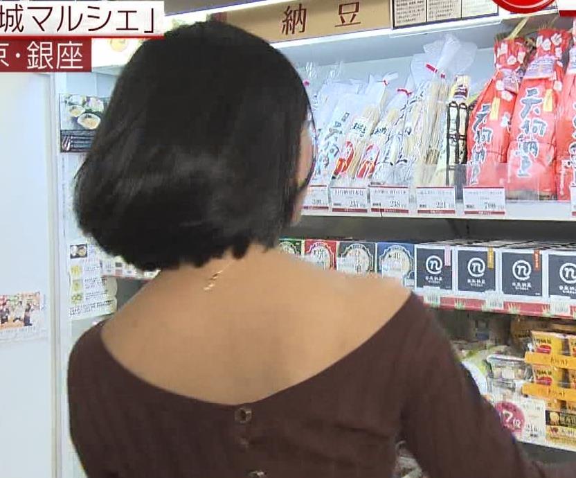 竹内由恵 ニットおっぱい画像6