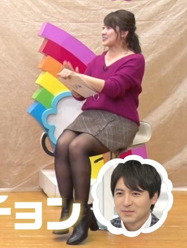 尾崎里紗 太もも画像3