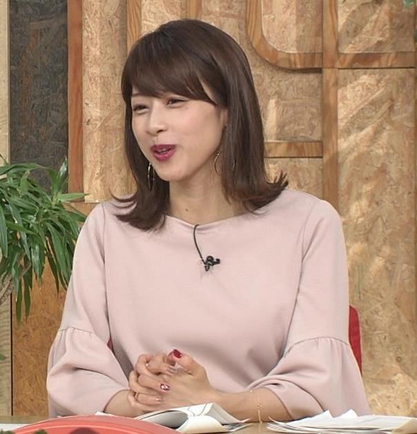 加藤綾子 横乳画像7