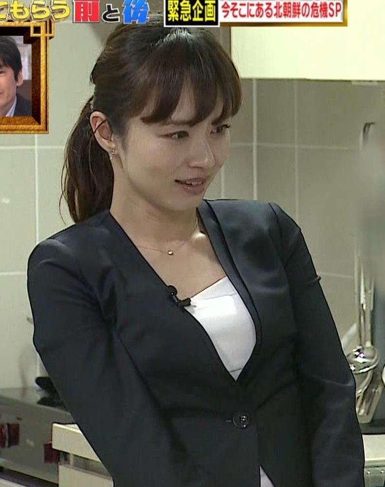 伊藤綾子 胸元画像8