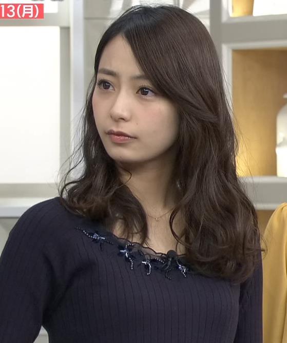 宇垣美里 ニットおっぱい♡かわいい顔キャプ画像(エロ・アイコラ画像)