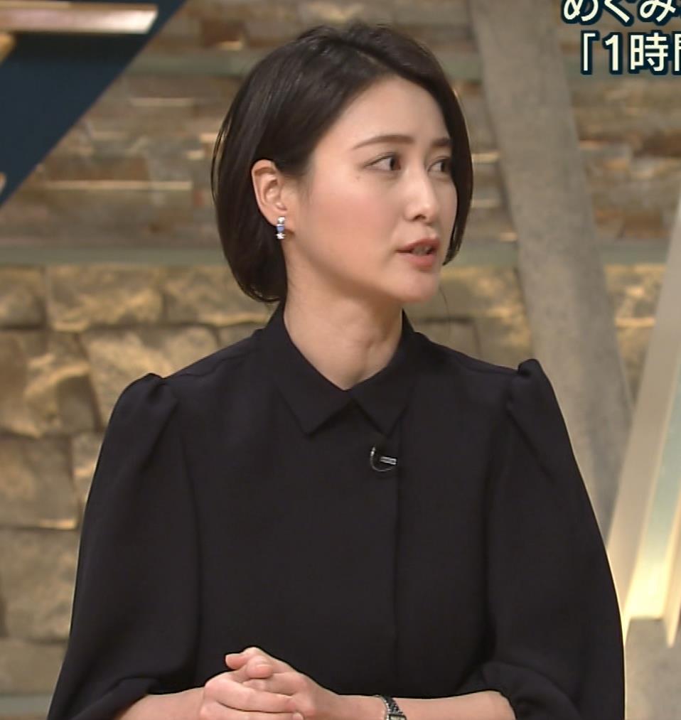 小川彩佳 ショートカットもかわいい32歳女子アナキャプ画像(エロ・アイコラ画像)