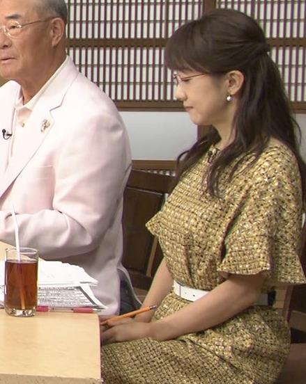 唐橋ユミ ワンピース横乳キャプ画像(エロ・アイコラ画像)