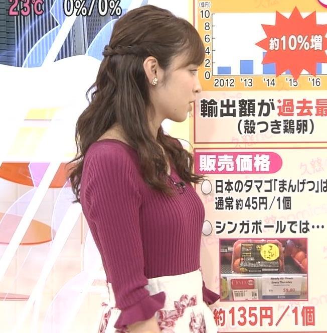 久慈暁子 おっぱい画像2