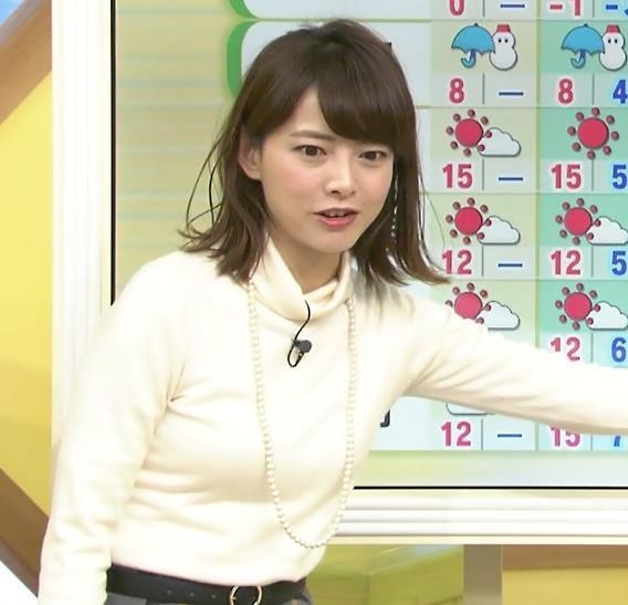 尾崎朋美 ニットおっぱい♡画像4