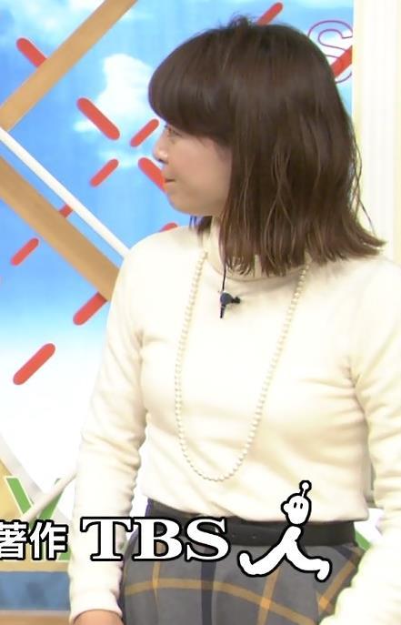 尾崎朋美 ニットおっぱい♡画像6