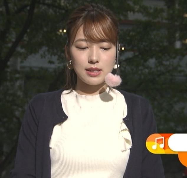 阿部華也子 乳がエロいニットキャプ・エロ画像