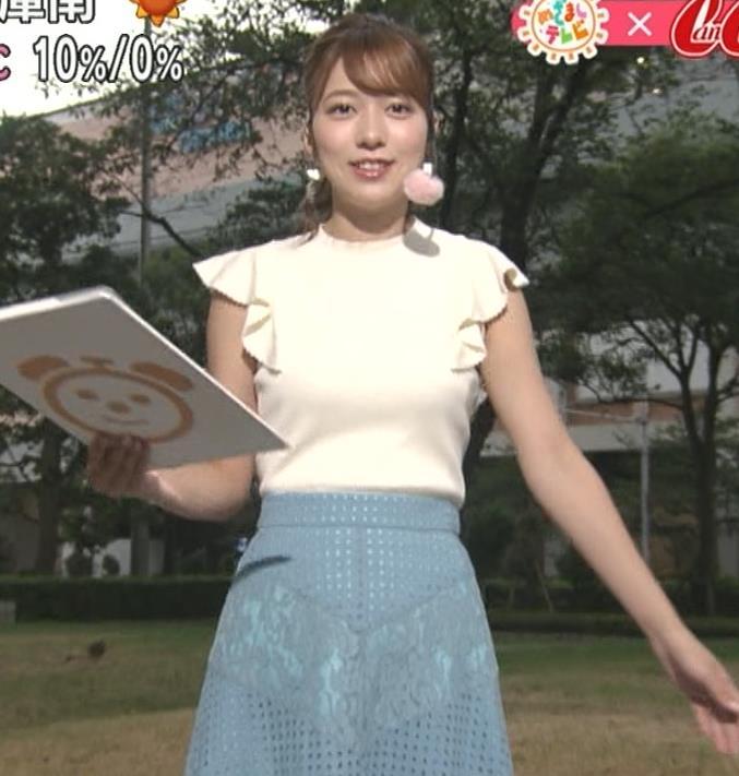 阿部華也子 乳がエロいニットキャプ・エロ画像11