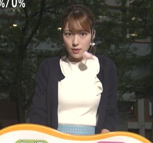阿部華也子 乳がエロいニットキャプ・エロ画像3