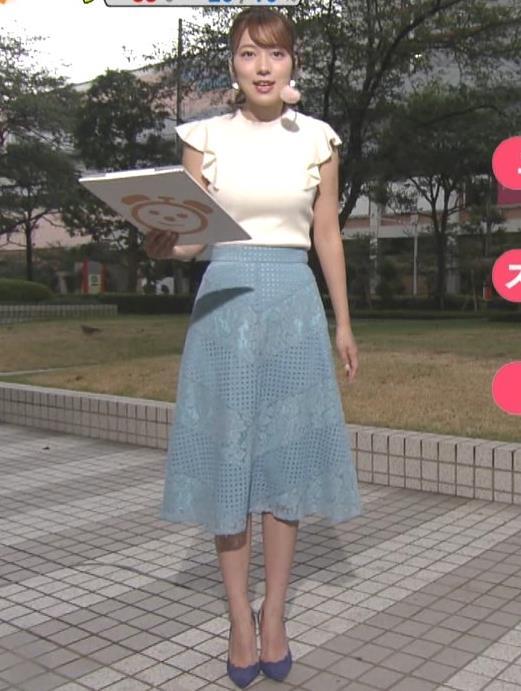 阿部華也子 乳がエロいニットキャプ・エロ画像8