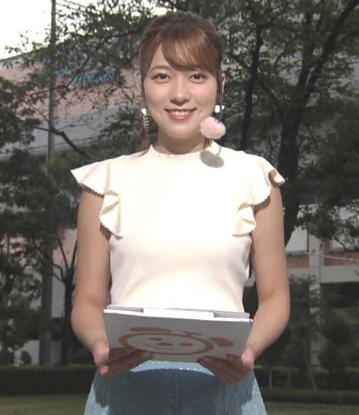 阿部華也子 乳がエロいニットキャプ・エロ画像10