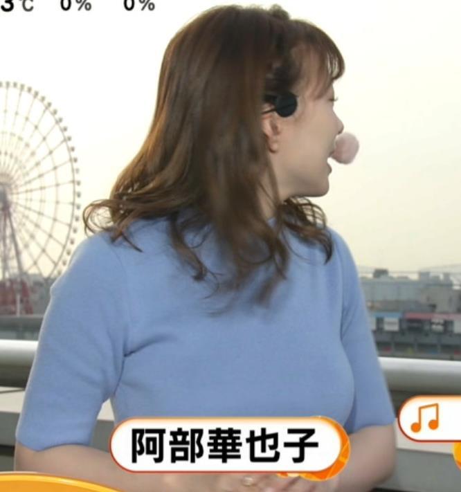 阿部華也子 巨乳が際立ちすぎ!キャプ・エロ画像2