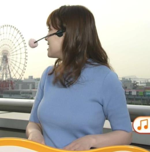 阿部華也子 巨乳が際立ちすぎ!キャプ画像(エロ・アイコラ画像)