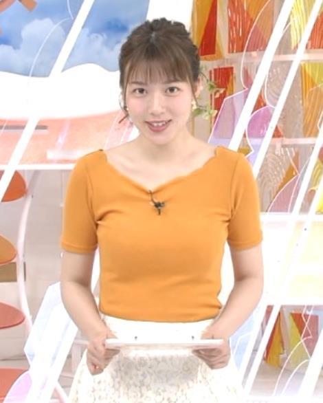 阿部華也子 ニット乳がまたエロかったキャプ・エロ画像