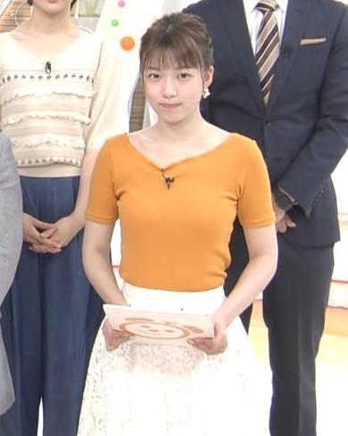 阿部華也子 ニット乳がまたエロかったキャプ・エロ画像4