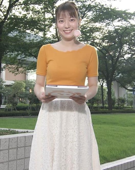 阿部華也子 ニット乳がまたエロかったキャプ・エロ画像6