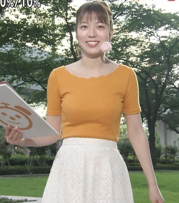 阿部華也子 ニット乳がまたエロかったキャプ・エロ画像9
