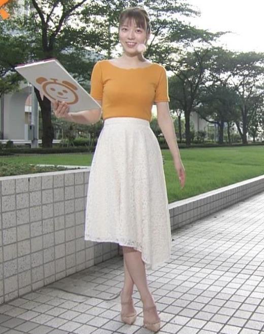 阿部華也子 ニット乳がまたエロかったキャプ画像(エロ・アイコラ画像)