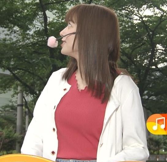 阿部華也子 ニット乳キャプ・エロ画像2